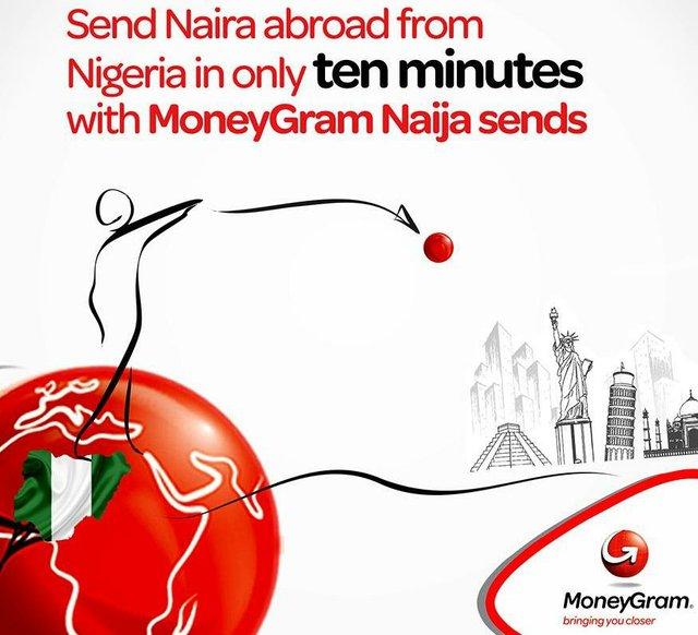 Send Naira abroad - MoneyGram's 'Naija Sends' service
