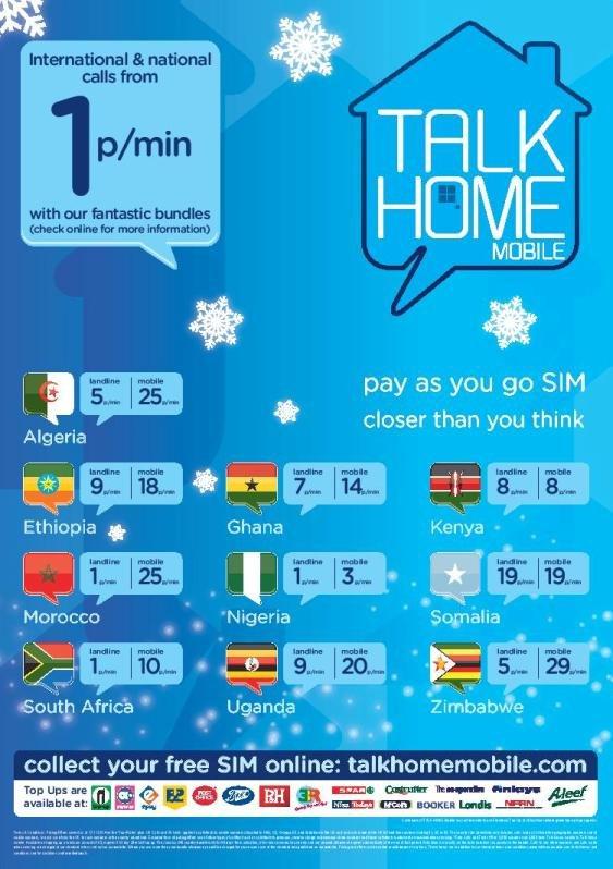 Talk Home Xmas 2014