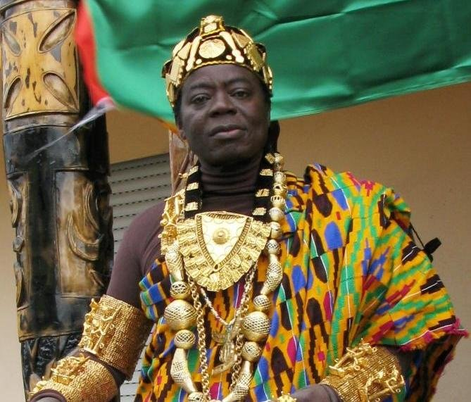Ghanaian king who rules from germany via skype burgled trumpet ghanaian king who rules from germany via skype burgled trumpet media group publicscrutiny Images