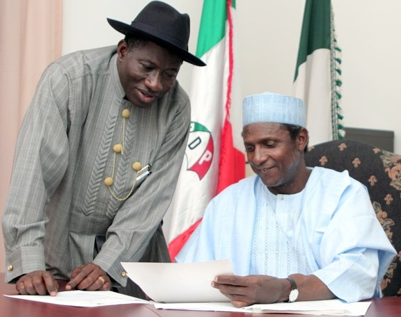 Yaradua's death in office in 2010 paved way for Jonathan's ascendancy
