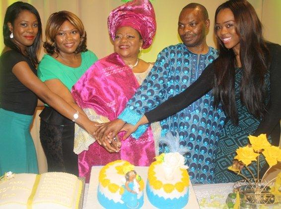 Rev Racheal Foluke Fajoye poses with her husband Rev Jide Fajoye and their children.jpg