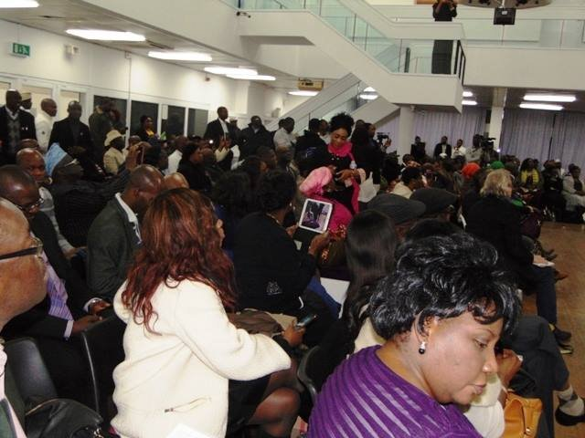 A cross section of the audience