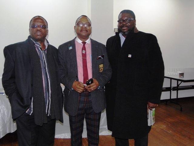 Michael Oshinyemi, Peter Ilenbarenemen and Ade Omole