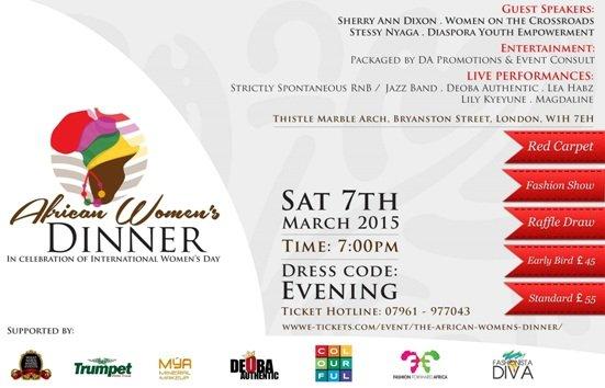 African Women's Dinner