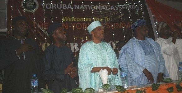 Pan Yoruba Summit 2015