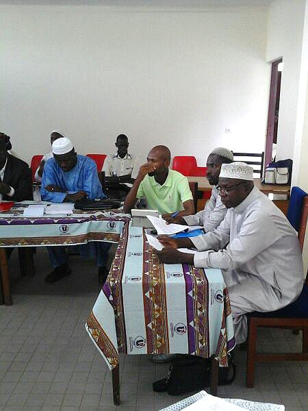 Religious representatives talks about religious peace in Côte d'Ivoire
