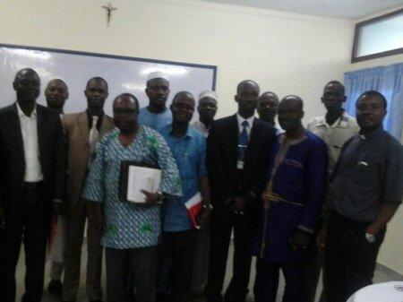 Religious representatives gathering in Côte d'Ivoire