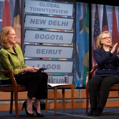 Hillary Clinton Global Townterview