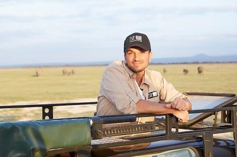Peter Andre travels to Kenya