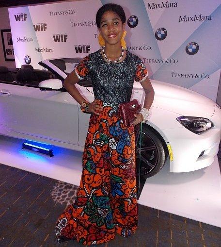 Zuriel Oduwole on the BMW Red Carpet