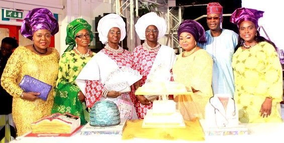 Bunmi West, Bunmi Fashanu, The Twins, Abike Ade, Mr Austin Fashanu & Princess Marian Awolowo