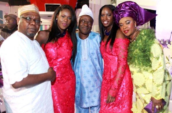 Mr Folajuwan Ajidagba, Alexandra Akpabio, Mr Richard Akpabio, Margaret Akpabio & Mrs Adenike Ajidagba (Nikki's)