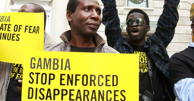 Sharp human rights decline in Gambia