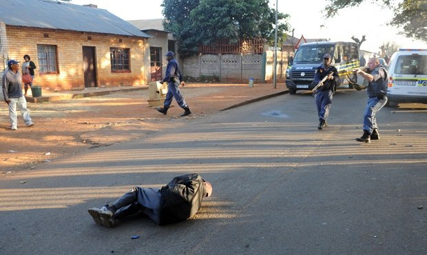 Roodepoort Primary School protests