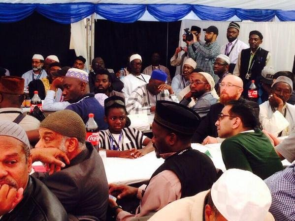 Attendees at the Jalsa Salana