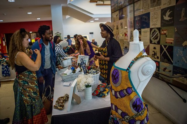 Africa Utopia 2014 Market.