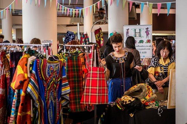 Fashion at Africa Utopia 2014 Market.