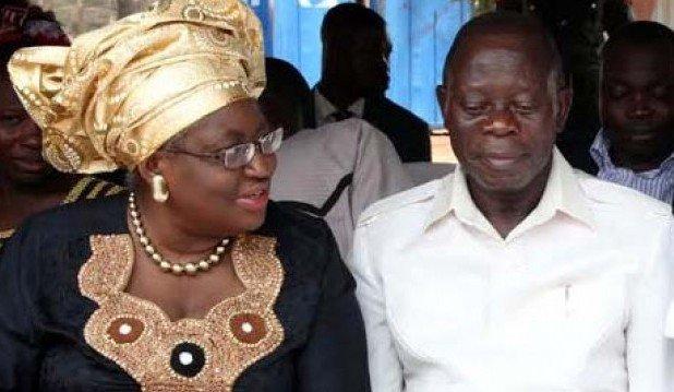 Ngozi Okonjo-Iweala Adams Oshiomhole