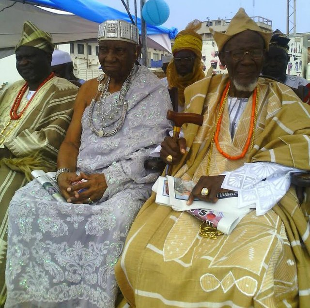 Ghanaian chiefs with Chief Brimah VII on far right.jpg