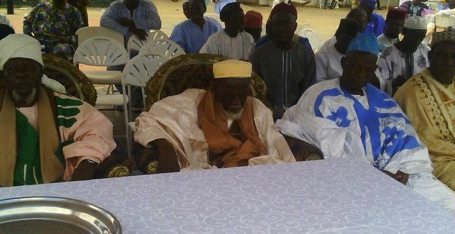 Guests including Ghana's Chief Imam (Yellow Cap).jpg