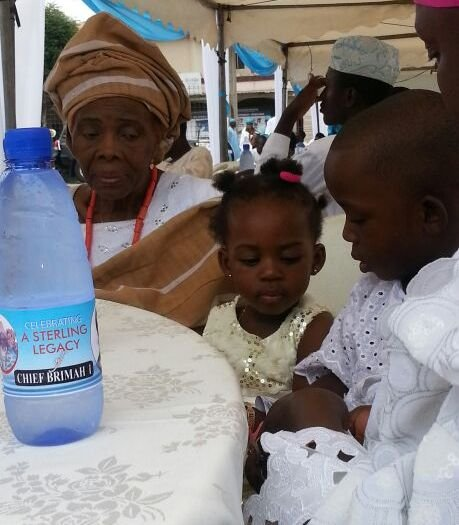 Queen Brimah with a Princess and Prince.jpg