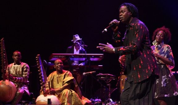 Toumani and Sidiki Diabate, Baba Maal at Africa Utopia