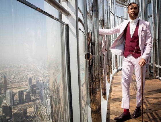 Jidenna on top of the world