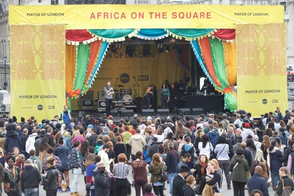 Africa on the Square at Trafalgar Square