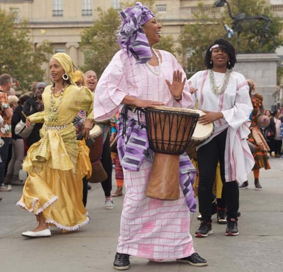 Africa on the Square at Trafalgar Squar