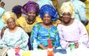 Posing with Prophetesses Fisayo, Oyewole and Ijelu