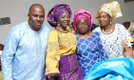 With Mr & Mrs Jide Olagundoye and Prophetess Akinniranye
