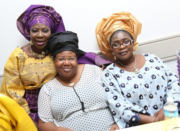 With Mrs Olateru and Mrs Toyin Akinpelu-Seidu