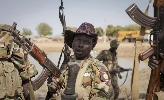 South Sudan conflict b