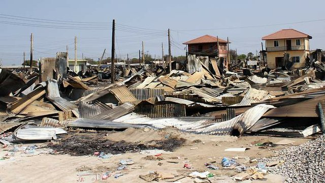 Aftermath of South Sudan conflict