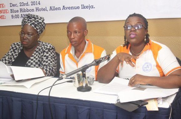 Asking questions - Press Conference following Folake's death