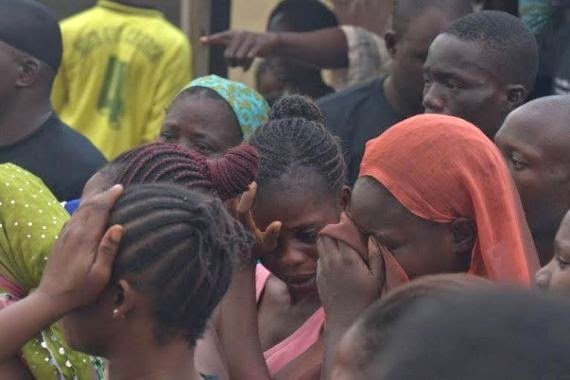 Folake's death sparked a demonstration at the hospital