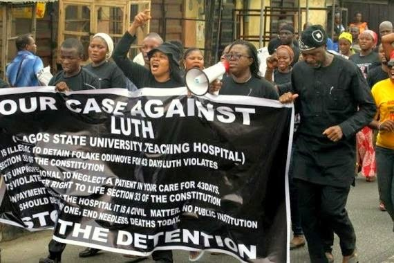 Our case against LUTH