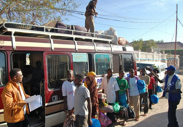 IOM helps survivors of last January's boat tragedy in Somalia return home to Ethiopia.