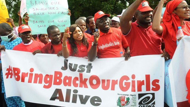 Campaigning to Bring Back Our Girls alive