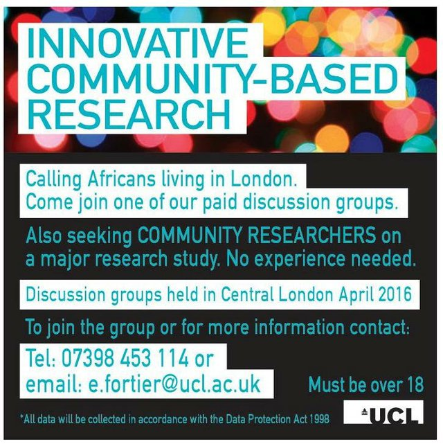 UCL Community Research