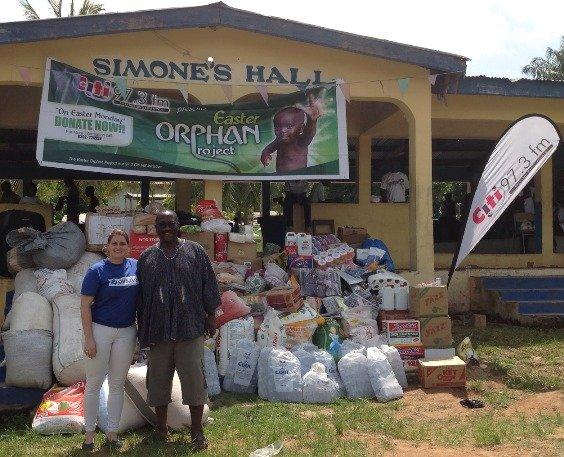 Jovago donates to orphans