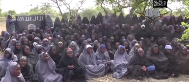 Girls abducted by Boko Haram