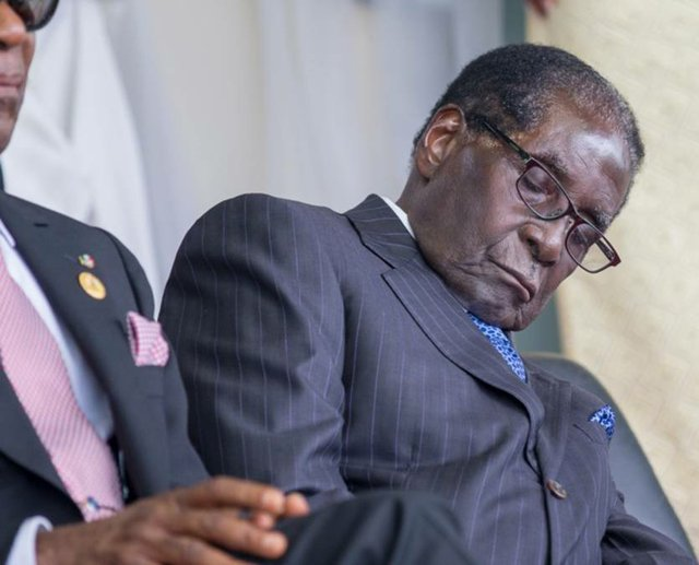 Robert Mugabe - Tired, but not going anywhere.