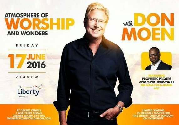 Don Moen at The Liberty Church (TLC)