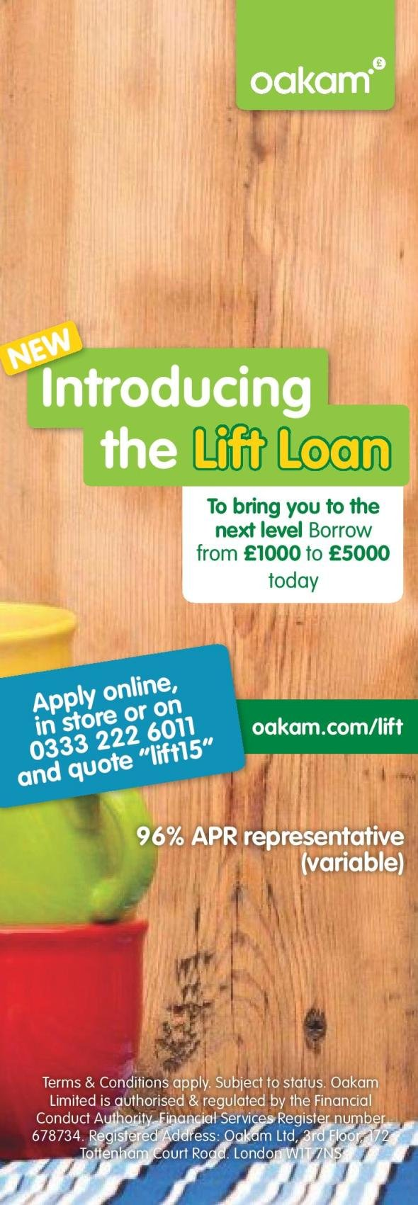Oakam - lift loan