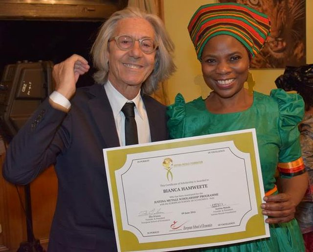 Bianca Hamweete Scholarship Award