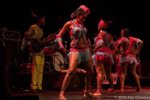 Adding dance steps to Femi Kuti's music