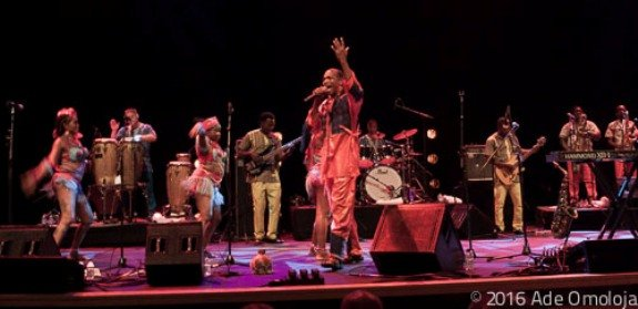 Femi Kuti was in magnificient form