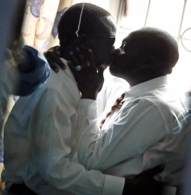 Two Kenya gay lovers
