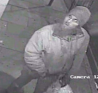 Suspect sought in mosque hate crime